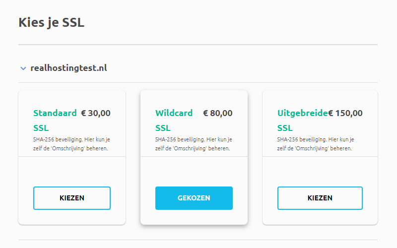 Wildcard SSL bestellen