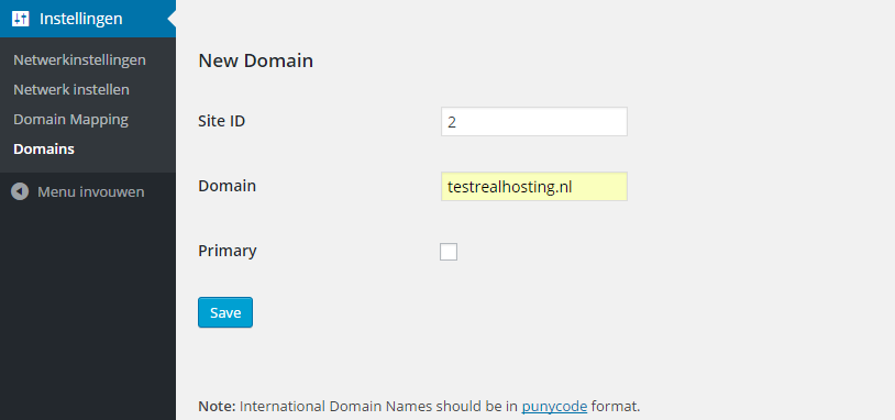 Domain Mapping Domains