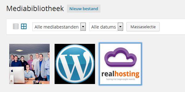 Mediabiblotheek WordPress 4.0