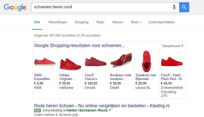 schoenen heren rood