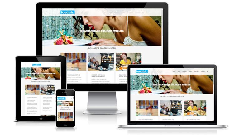 Voorbeeld mobile responsive design