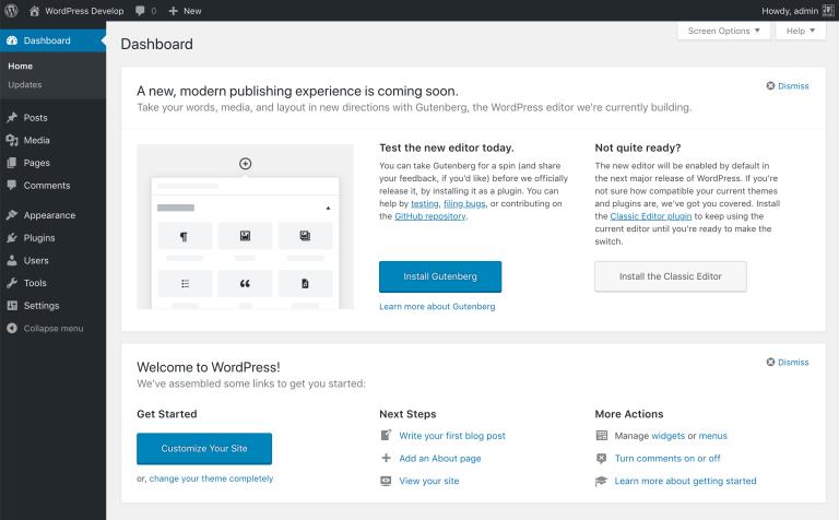 Gutenberg wordt definitief gepresenteerd in WordPress 5.0