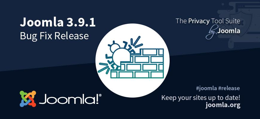 Joomla 3.9.1 uitgebracht