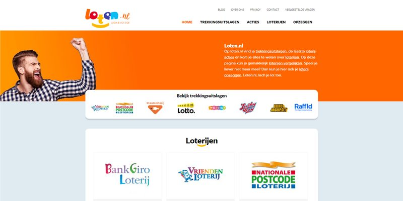 Website loten.nl