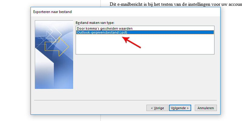 Outlook-gegevensbestand (pst) Microsoft Outlook 2013