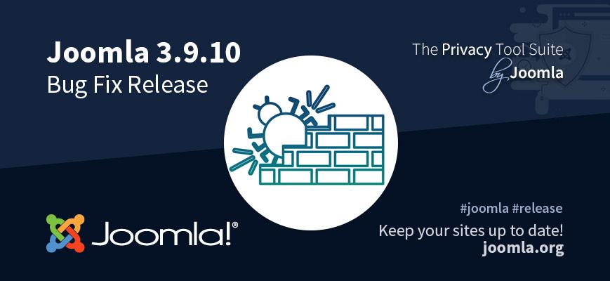 Joomla 3.9.10 uitgebracht