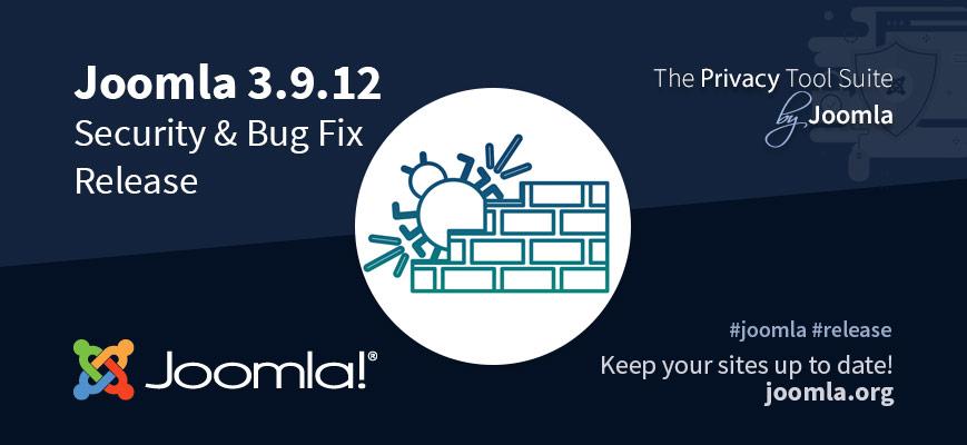 Joomla 3.9.12 uitgebracht